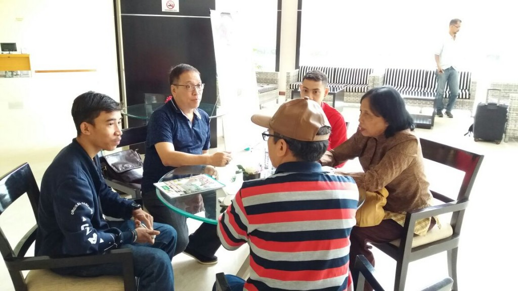 Rapat di Golden palace 14 juli