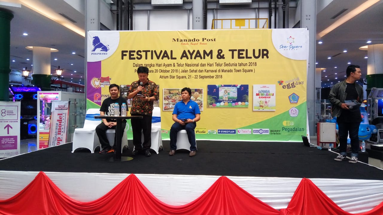 Festival Ayam Telur Meriahkan Rangkaian HATN 2018 Manado