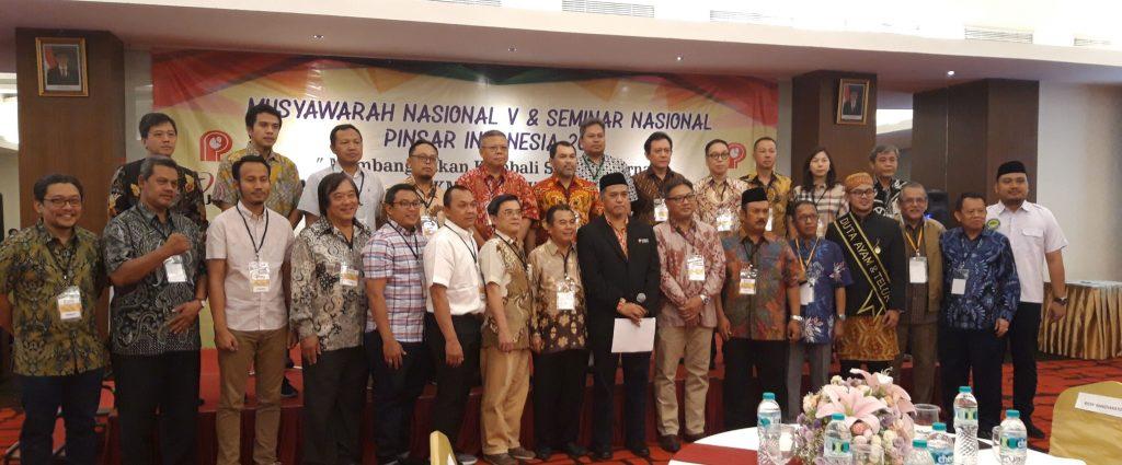 Susunan Pengurus Pinsar Periode 2019-2024