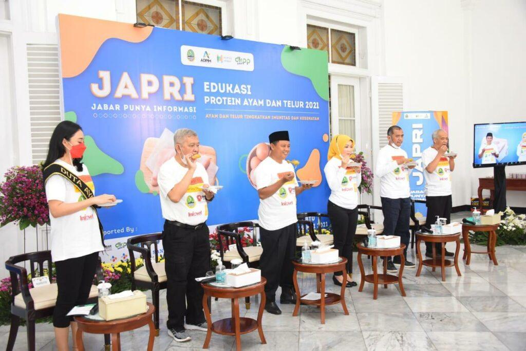 PINSAR INDONESIA DAN PEMDA JABAR LAKUKAN EDUKASI PROTEIN AYAM & TELUR UNTUK ATASI KASUS STUNTING