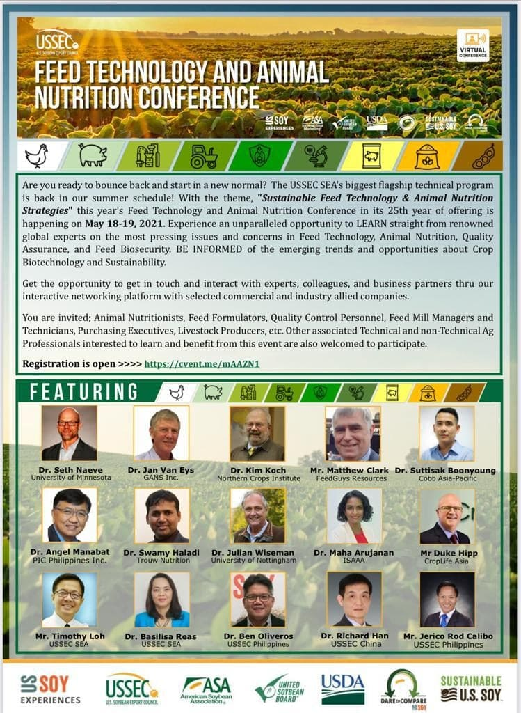 FEED TECHNOLOGY AND ANIMAL NUTRITION CONFERENCE