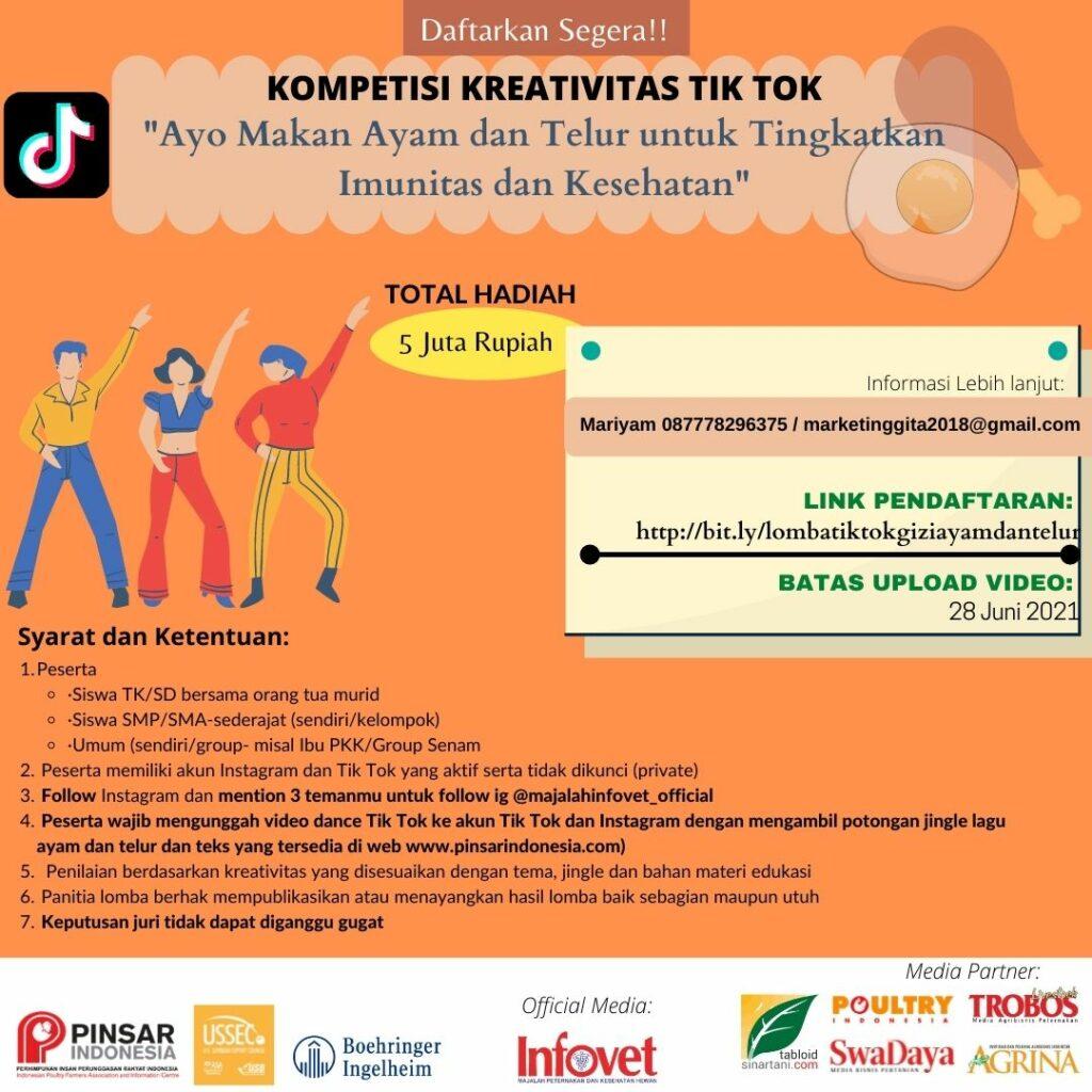Materi  Kompetisi Kreasi Tiktok dan Poster Edukasi Gizi